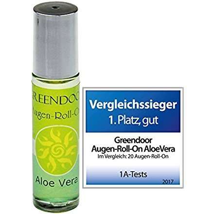Greendoor Augen Roll-On Aloe Vera 10ml,...