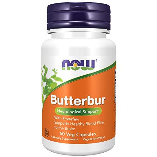 Now Foods, Pestwurz mit Mutterkraut (Butterbur...