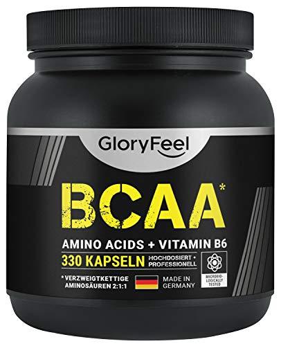 BCAA 330 Kapseln - Essentielle Aminosäuren...