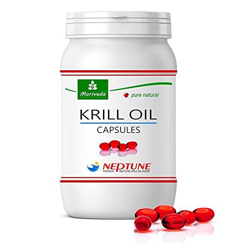 MoriVeda® - Krillöl Kapseln 90 oder 270, 100%...