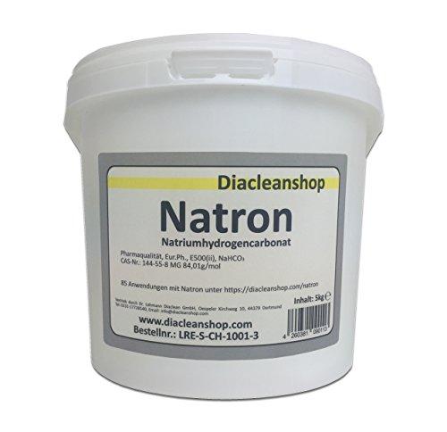 Natron 5 kg Pulver in pharmazeutischer Qualität...