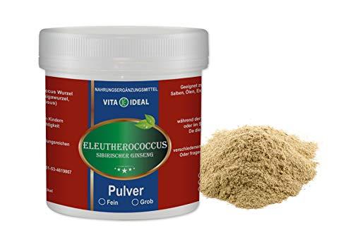VITAIDEAL ® Eleutherococcus Wurzel Pulver fein...