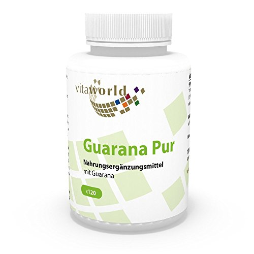 Vita World Guarana pur 500mg 120 Kapseln Apotheken...