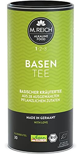 M. Reich BasenTee - 30 Beutel - Basischer Tee mit...