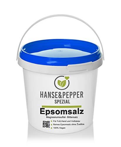 5kg Bittersalz Epsom Salz MgSO4 5kg Eimer -...