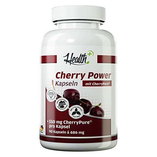 Health+ Cherry Power - 90 Kirschextrakt-Kapseln,...