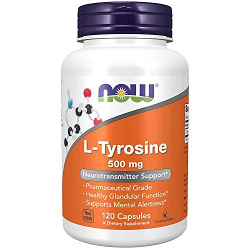 Now Foods, L-Tyrosin, 500 mg, 120 Kapseln,...