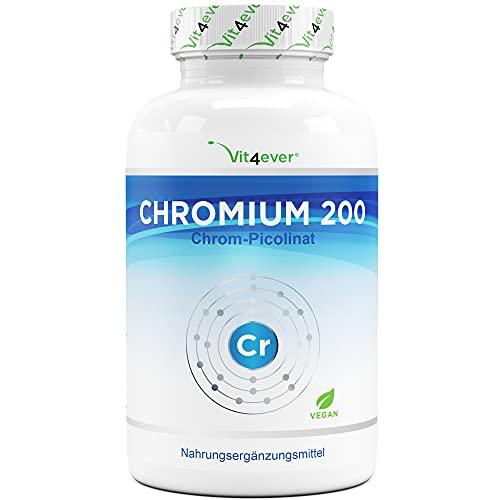 Chromium Picolinate - 200 mcg reines Chrom je...