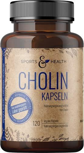 Cholin Kapseln - Cholin Kapseln Hochdosiert - 120...