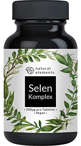 Selen Komplex - 365 Tabletten mit je 200µg -...