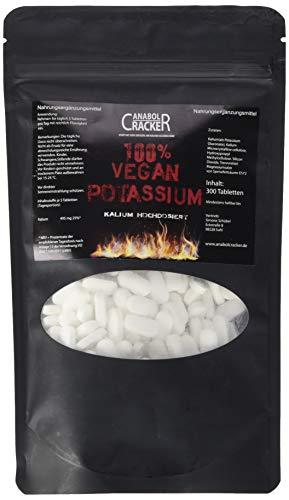 300 TABLETTEN - KALIUM / 100% Vegan Potassium...