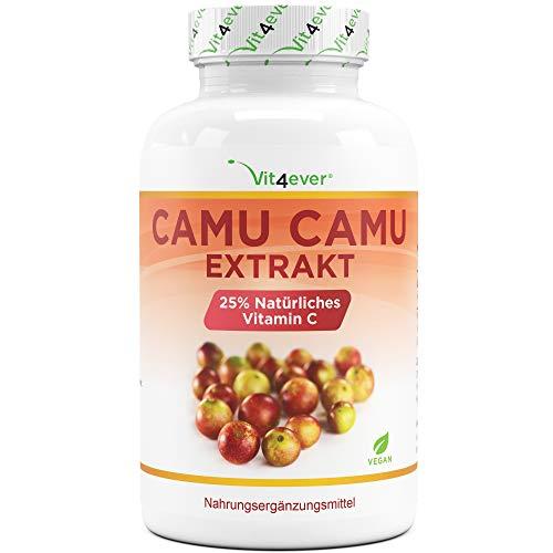 Camu Camu Kapseln - Natürliches Vitamin C - 240...
