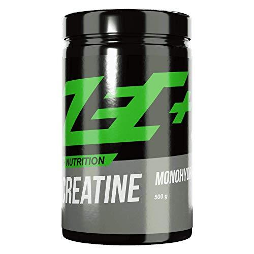Zec+ Creatine Monohydrat Pulver, 500 g reines...