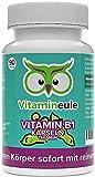 Vitamin B1 Kapseln (Thiamin) - hochdosiert, natürlich & vegan - 200mg - ohne künstliche Zusatzstoffe - Qualität aus Deutschland - Thiaminhydrochlorid - Vitamineule®