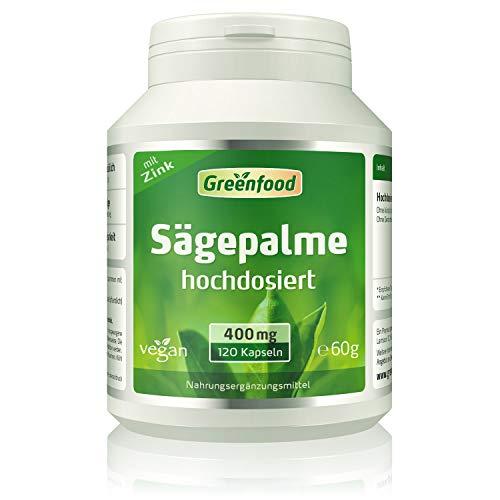 Greenfood Sägepalme, 400 mg reine Sägepalme plus...
