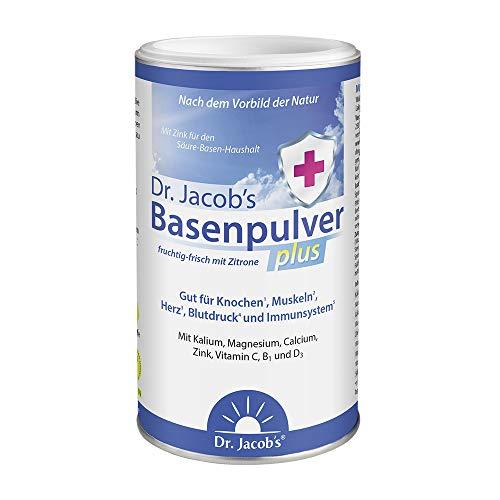 Dr Jacob's Basenpulver plus mit echter Zitrone I...