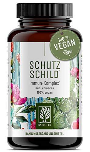 Immunsystem-Komplex - 500mg Echinacea mit Vitamin...