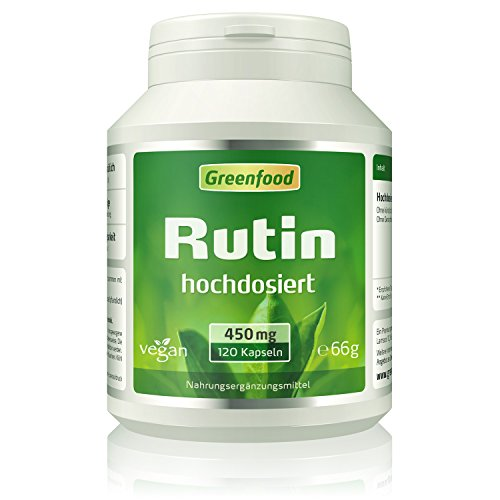Greenfood Rutin, 450 mg, hochdosiert, 120...