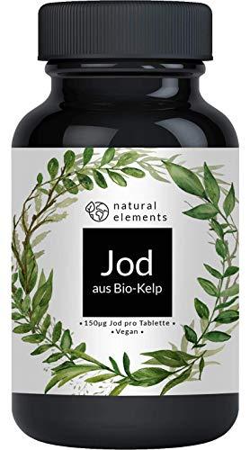 Bio Kelp (Natürliches Jod) - 365 Tabletten mit je...