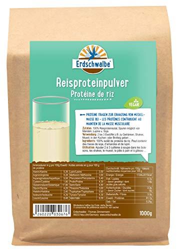 Erdschwalbe Reisprotein - Hergestellt in der EU -...