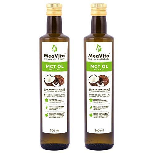 MeaVita - MCT Öl, 100% reine Premium Qualität, 1...