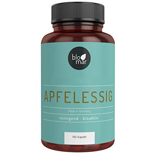 Apfelessig Kapseln - 100% natürliches Pulver -...