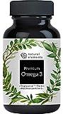 Premium Omega 3 Fischöl Kapseln - 3-fache Stärke: GoldenOmega® in Triglycerid-Form - Laborgeprüft, aufwendig aufgereinigt und aus nachhaltigem Fischfang