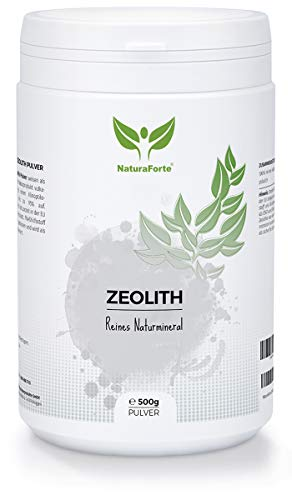 NaturaForte Zeolith Pulver 500g - Klinoptilolith...