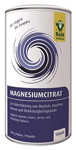 Raab Vitalfood Magnesiumcitrat Pulver, 340 g,...