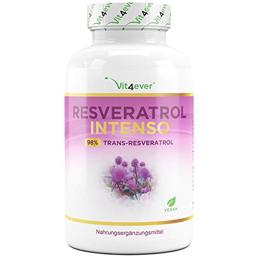 Resveratrol mit 500 mg pro Kapsel - Premium: 98%...