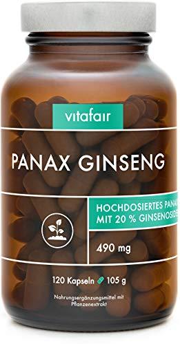 VITAFAIR Panax Ginseng Extrakt (490mg pro...