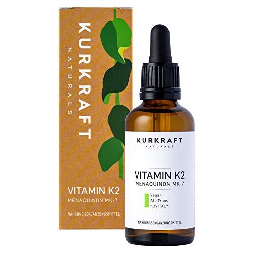 Kurkraft® Vitamin K2 MK-7-200µg - All-Trans...