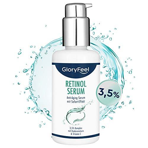 Retinol Serum Hochdosiert (3,5%) 100ml -...