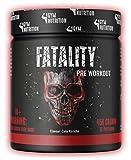 FATALITY - Ultra Hardcore Booster Pre workout - Pulver - 2020 USA Matrix - ATP + L-Arginin + Citrullin + Beta Alanin + Koffein 450g Cola Kirsche Geschmack