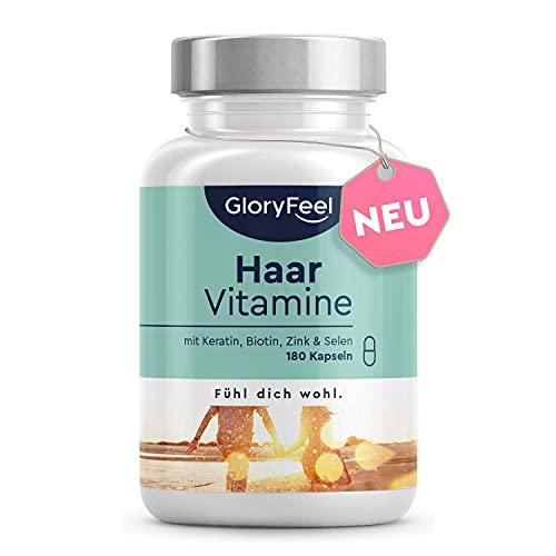 Haar Vitamine - Premium: 24 Vitalstoffe - 180...