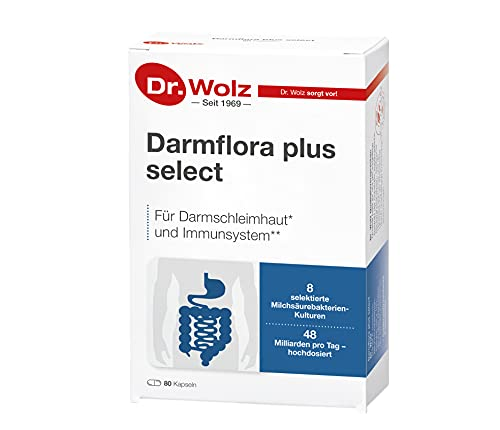Darmflora plus select Dr. Wolz | hochdosierte...