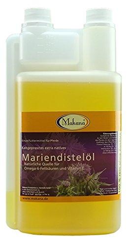 Makana Mariendistelöl für Tiere, kaltgepresst,...