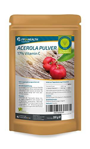 FP24 Health Acerola Pulver 300g - Acerola 17%...