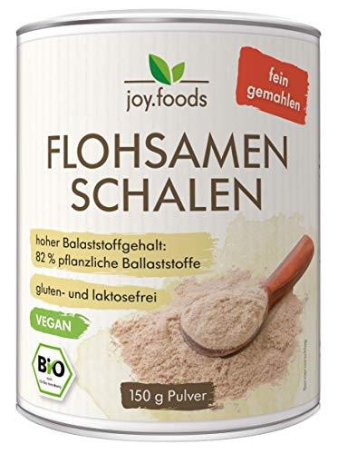 joy.foods Bio Flohsamenschalenpulver, fein...