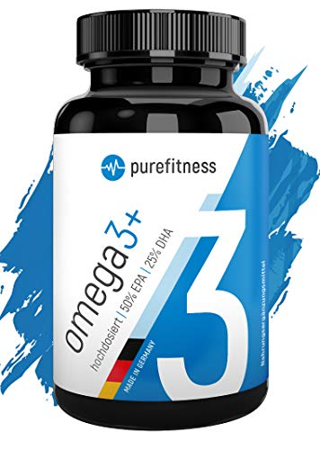 ULTRA HOCHDOSIERT - Omega 3 Kapseln Plus 2000 mg I...