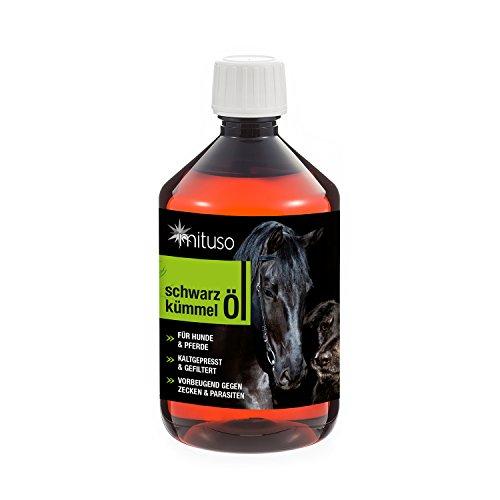 mituso Schwarzkümmelöl 500ml für Hunde &...