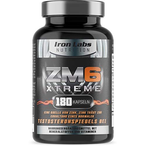 ZM6 Xtreme - Hochdosiert - Zink Magnesium...