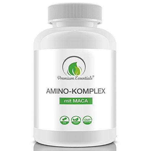 Amino-Komplex + Maca, 300 Tabletten á 1000mg...