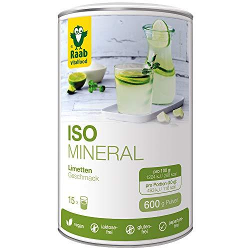 Raab Vitalfood Iso Mineral Limette, isotonisches...