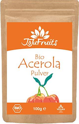JoJu Fruits - Bio Acerola Pulver (100g) -...