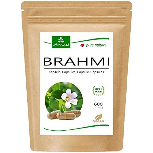 MoriVeda® Brahmi Kapseln l 2 Monatspackung l...