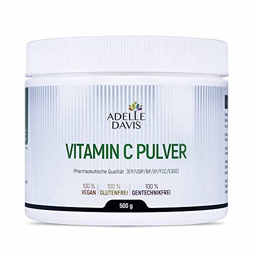 Adelle Davis® Vitamin C Pulver 500 Gramm - Reine...