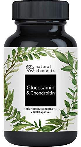 Glucosamin & Chondroitin hochdosiert - 180 Kapseln...