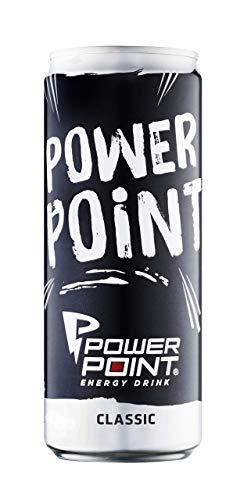 Power Point Energy Drink Classic, Dosen-Design...