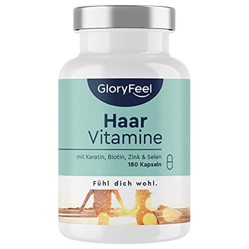 Haar Vitamine - 180 Kapseln - Premium: Hochdosiert...